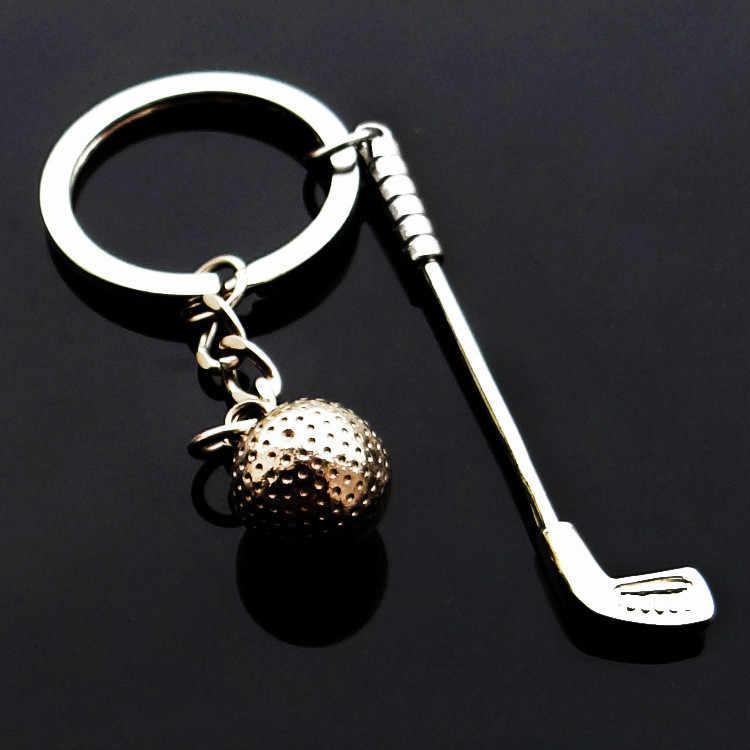Металлический брелок для ключей «гольф» спортивные игры на открытом воздухе авто брелок для автомобиля брелок кольцо автомобиль подарок CNYOWO