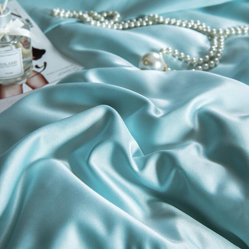 (10)  White silver cotton imitate silk luxurious Bedding Set queen king measurement mattress set Bedsheets linen Europe embroidery Quilt cowl set HTB1LfzmpmtYBeNjSspkq6zU8VXaa
