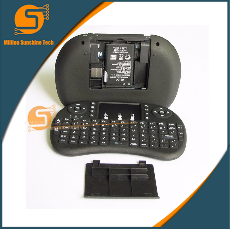 mini Keyboard Air Mouse Multi-Media Remote Control 3.7V 3.8Wh Lithium battery