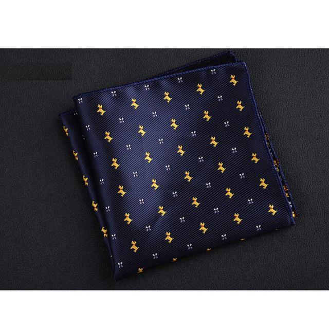 Pañuelo Estampado de Seda