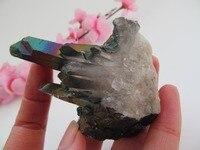 82g 49*31*63mm Colour Plating kleur vug natuursteen kunstwerken Unieke Nieuwkomers alleen een woninginrichting artikelen crystal
