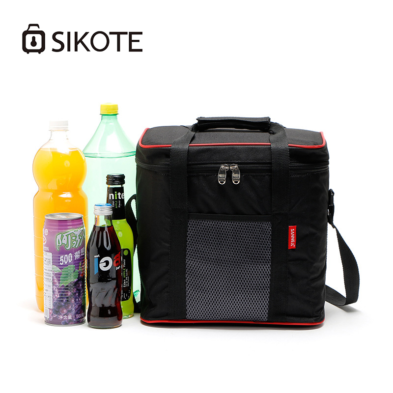 SIKOTE 20L Large Aluminum Foil lunch bagBags Portable Preservation Picnic ice pack Cold Outside Multifunctional Insulation Pack
