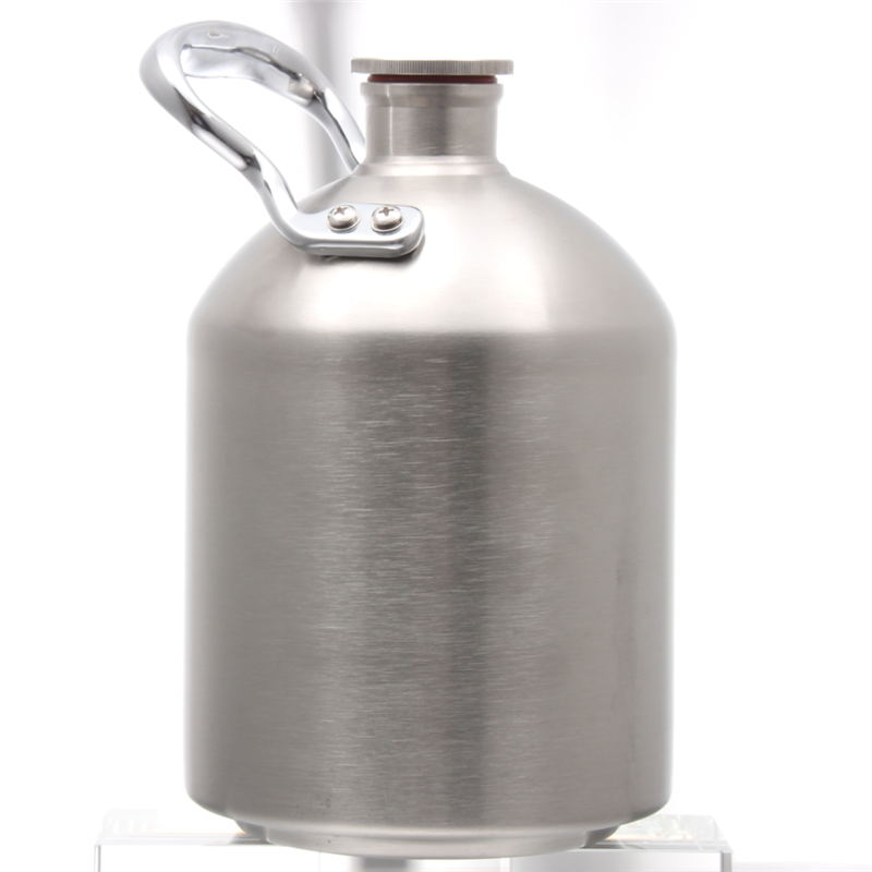 2L 64OZ KEG STORM Homebrew Beer 304 Stainless Steel Lifting Ring Mini Keg Grower Bar Accessories