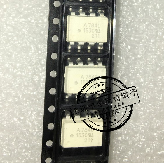 Send free 50PCS <font><b>A7840</b></font> HCPL7840 HCPL-7840 SMD SOP-8 optocoupler new imported original image