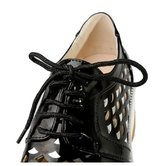 6 pink Femmes forme Cm Sandales Hauts D'été Black Chaussures Respirant Plate Rose Creux Vogue Talons Nouvelles Épaisse Coins Noir À Mode Tpwq4F