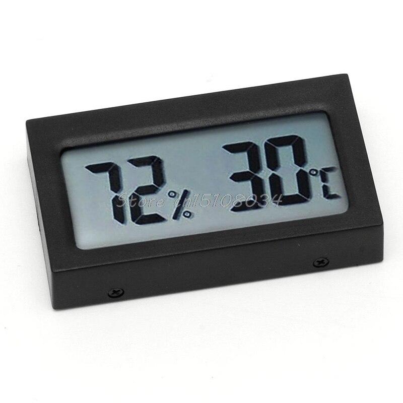 Digitális LCD hőmérő páratartalom hőmérsékleti higrométer - Mérőműszerek - Fénykép 1