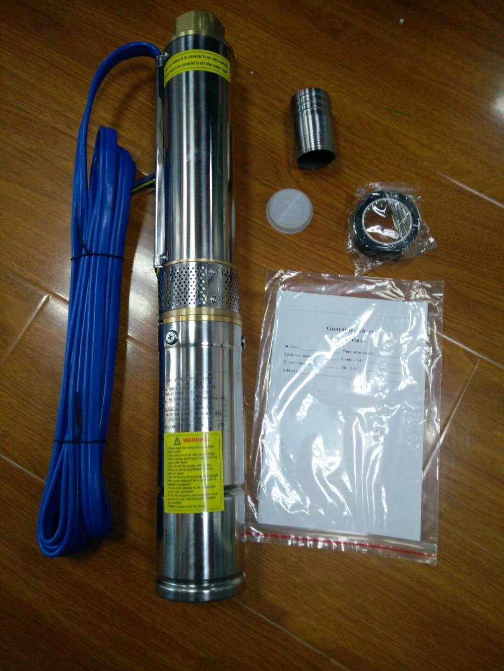 4FLA2 180 2.2 водяной насос для глубокой скважины 4 дюймовый скважинный Насос для продажи постоянный магнит бесщеточный мотор солнечные водяные