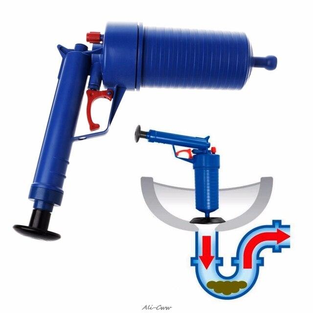 Высокая Давление Воздушный Насос дренажный Blaster Плунжер для раковины Ванная и Туалет Трубы Unblocker украинцах Remover Туалет Кухня Чище Комплект