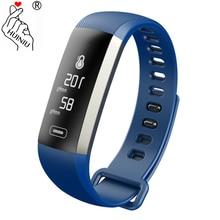 HUINIU M2S Plus R5MAX font b Smart b font Bracelet Heart Rate Tracker Blood Pressure Message