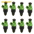 Auxmart 8pcs Fuel Injectors For Ford Mustang SOHC DOHC EV1 42lb 440cc MPN-0280155968 For Chevrolet LT1 LS1 LS6 Engines