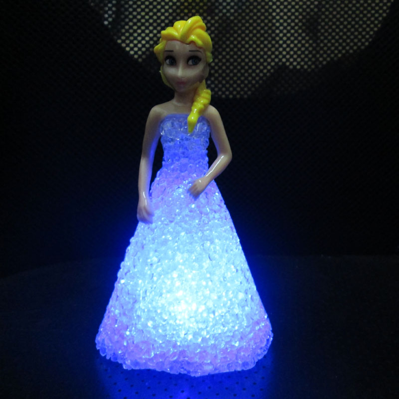 Frozen Princess Doll Anna Elsa Figure Doll Toy Mini Baby Toys Action Figures Elsa Dolls Toys ...