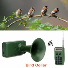 Outdoor Electronic Hunting Decoy Bird Caller Sound Audio Speaker Music Player With Timer & Remote Controller 200M F3340G