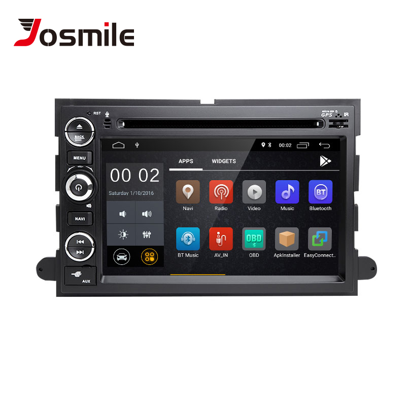 2 din Android 8.1 Car Radio For Ford Escape Ford F150 F250 Fusion Mustang Expedition Explorer 2005 2007 2008 DVD GPS Navigation