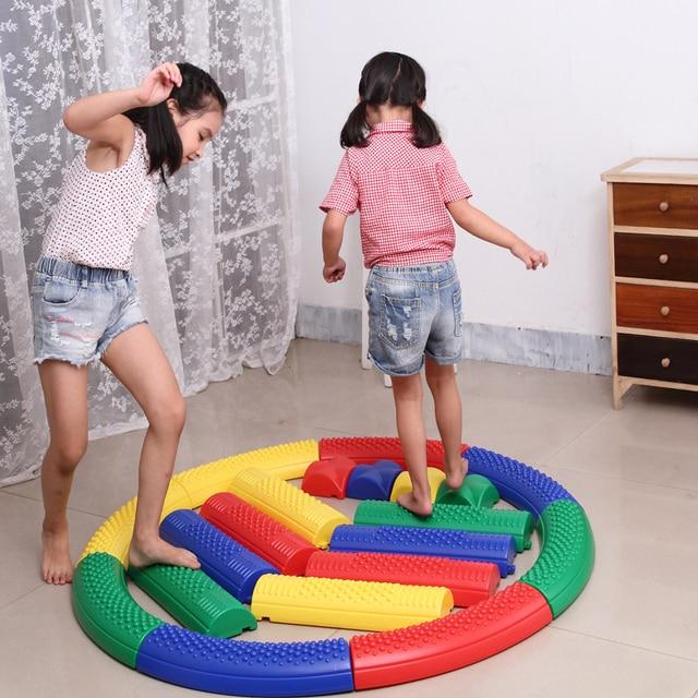 20pcs tactile path balance beam kids children indoor for Motor age training coupon code