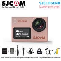 100 New SJCAM SJ6 LEGEND 4K 24fps 2 0 Touch Screen Remote Ultra HD Notavek 96660