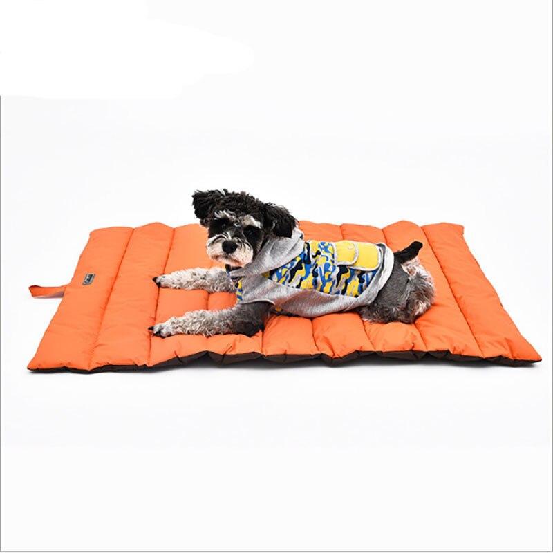 Venxuis été refroidissement chien lit matelas tapis chat petits chiens Cage coussin imperméable à l'eau Cool glace tapis de couchage Kimpets livraison directe