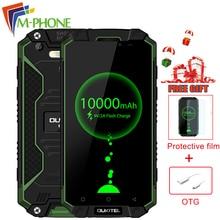 Oukitel K10000 Max 4G Waterproof Dustproof Shockproof Mobile Phone Android 7.0 MTK6753 3GB+32GB 10000mAh 16.0MP Smartphone