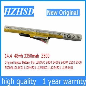 14.4v 48wh 3350mah Z500 Original laptop Battery For LENOVO Z400 Z400S Z400A Z510 Z500 Z500AL12L4K01 L12M4E21 L12M4K01 L12S4E21