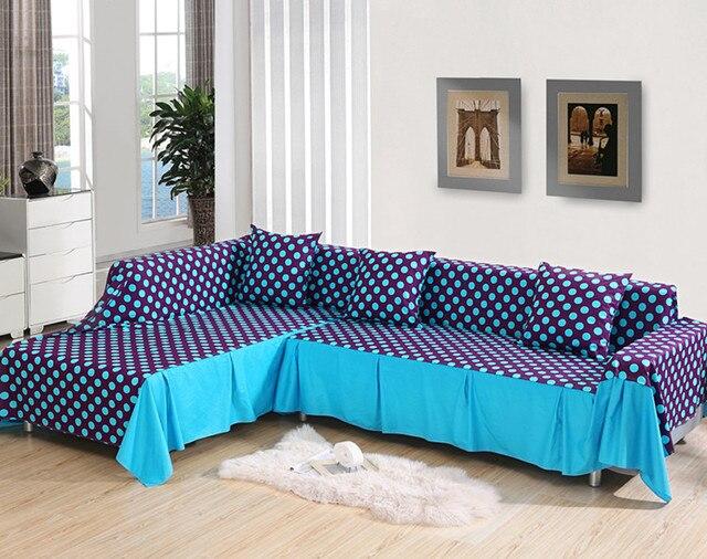 100 cotton Europe type rustic sofa sets sofa cover fashion full