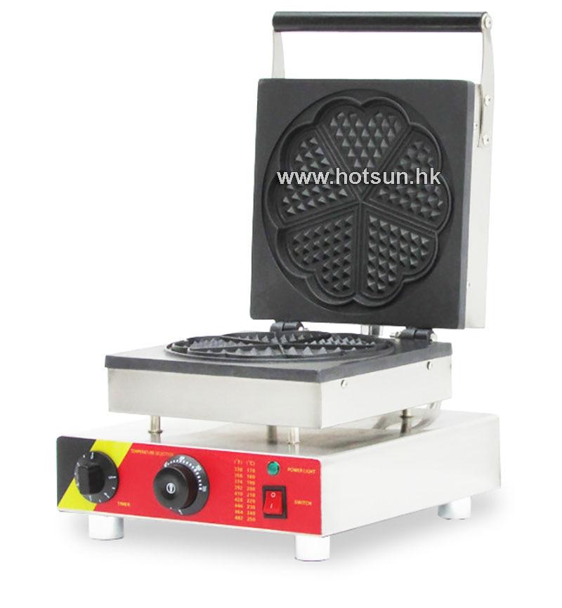 Commercial Non-stick 110V 220V Electric Heart-shaped Waffle Baker Maker Iron Machine 110v 220v waffle maker iron machine baker heart shape commercial waffle maker