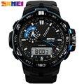SKMEI 1081 Hombres Reloj Deportivo Digital Militar Impermeable Relojes de Pulsera Relogio masculino función reloj para hombre relojes de primeras marcas de lujo