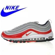 reputable site 371a9 a7654 Original Nike Air Max 97 de los hombres y de las mujeres corriendo zapatos  de alta calidad al aire libre deportes respirable lig.