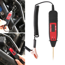 Universal 5 36V LCD Digital Circuit Tester Voltage Meter Pen Car Circuit Scanner Power Probe Automotive Diagnostic Tool#291208