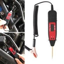 Uniwersalny 5 36V LCD cyfrowy Tester obwodów miernik napięcia Pen Car Circuit Scanner Power sonda samochodowe narzędzie diagnostyczne #291208