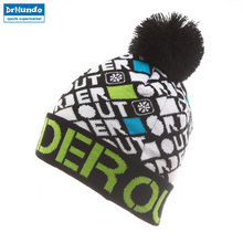 Вязанная зимняя хлопковая шапка для сноуборда, брендовые шапочки в стиле хип-хоп, теплые лыжные шапки Gorros Bonnetsr Skullies для женщин и мужчин