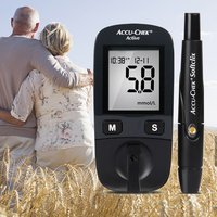 Home Fully automatic Safe Blood Glucose Meter Diabetes Tester Glucometer & Test Strips Lancets Medical Blood Sugar Monitor