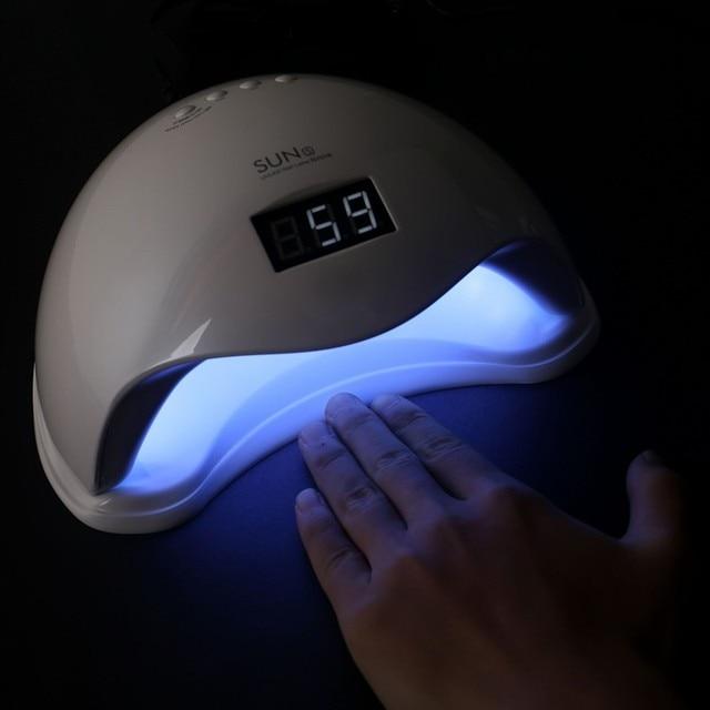 Sunuv Sun5 48w Led Nail Dryer Uvlamp Portable Light Dryer For Women