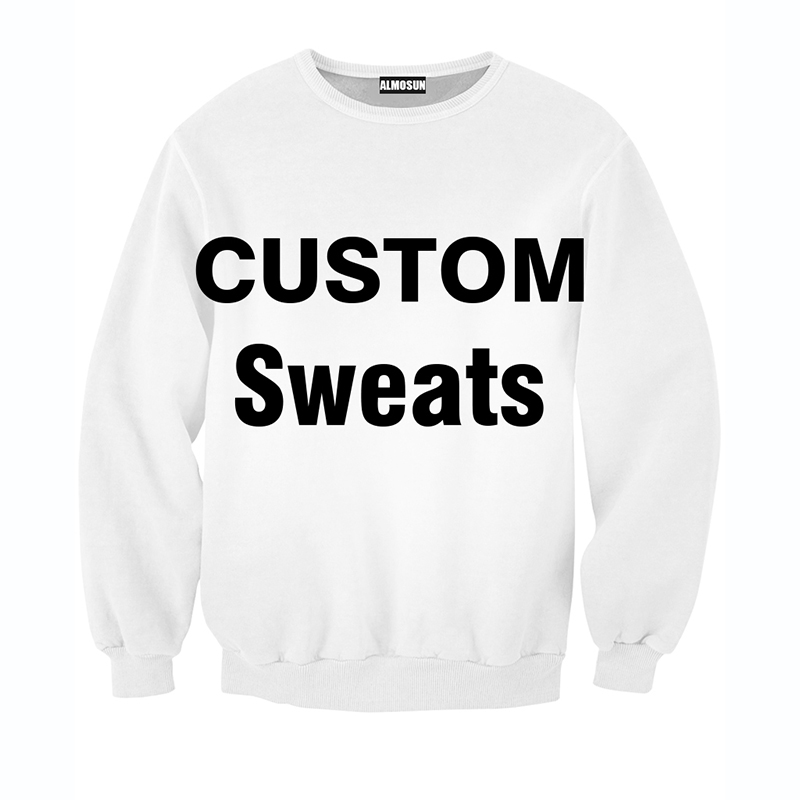 Almosun Harajuku Fashion Custom Crewneck Sweatshirts 3d Print
