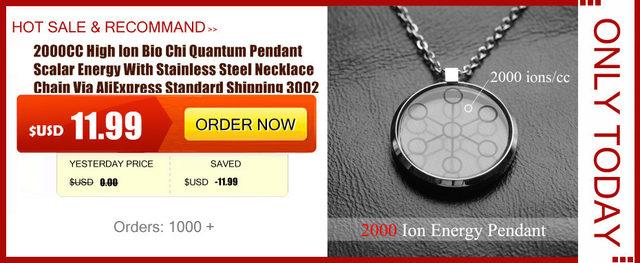 Online shop 2000cc high ion bio chi quantum pendant scalar energy item description mozeypictures Gallery