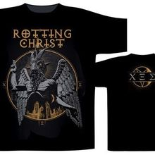 fa3909430 Rotting Christ 'Santanica' T-Shirt - NEW & OFFICIAL Tops Tee custom  Environmental