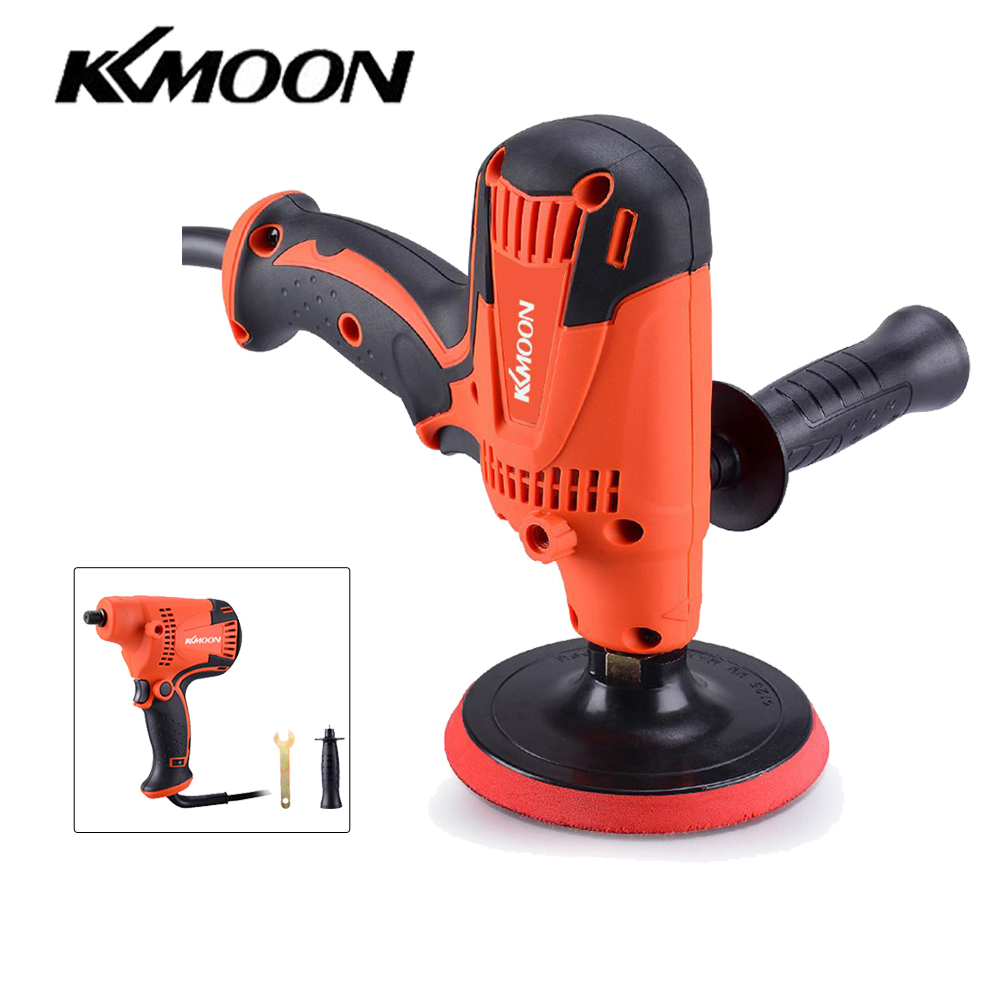 KKmoon 800W Adjustable Speed Car Electric Polisher Waxing Machine Automobile Polishing Tool