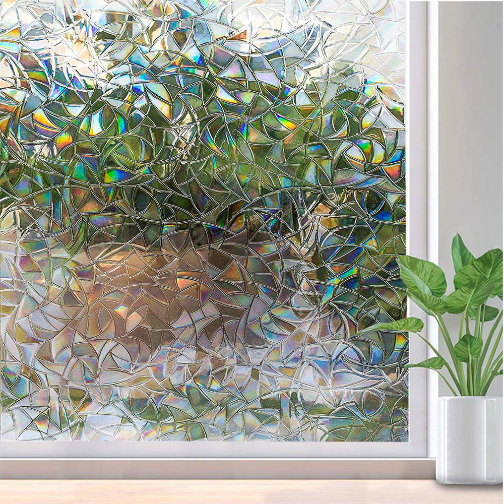 Back To Search Resultshome & Garden Hearty Funlife 30/45/60/75/90x200cmwindow Cover Film Home Decorative No-glue 3d Static Decorative Window Glass Stickers