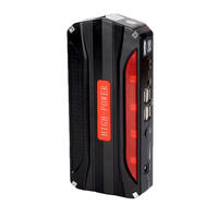 Car Jump Starter Multi Function Portable 4 USB Car Power Supply Rechargeable Power Bank High Power