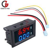 0.28 inch Mini LED Digital Voltmeter Ammeter DC 100V 10A Current Voltage Meter Detector Tester Monitor 0.28