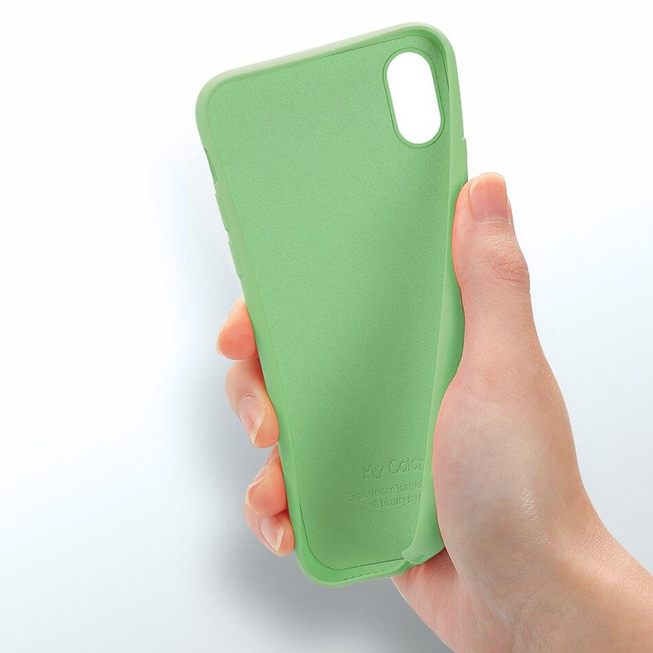Tpu mjuk kantfodral stötfångare för iphone 7 7Plus väska - Reservdelar och tillbehör för mobiltelefoner - Foto 4