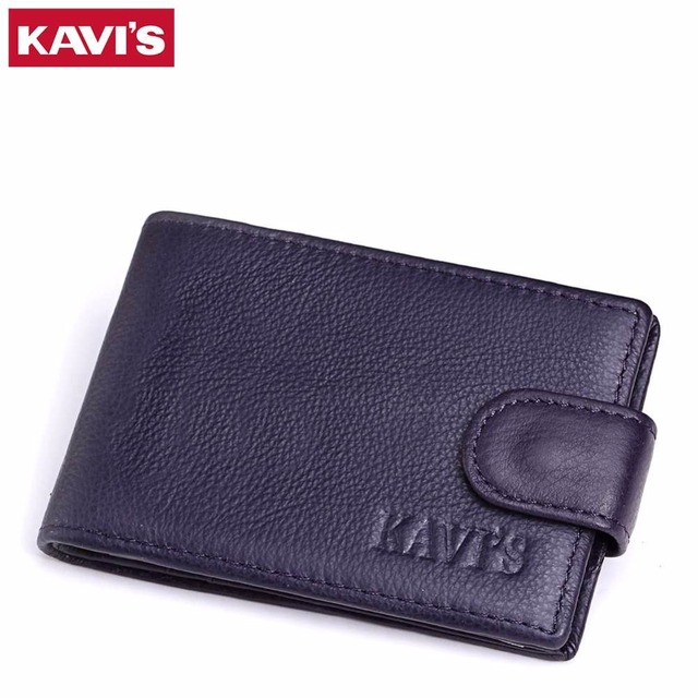 Kavis leather credit card holder men wallets mini mens business kavis leather credit card holder men wallets mini mens business credit id card holder cases reheart Images
