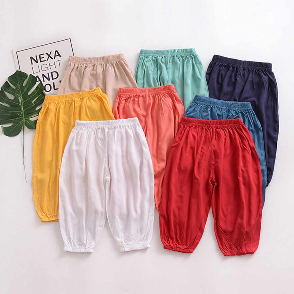 2019 ขายร้อนเด็กทารกเด็กทารกเด็กหญิง Anti-ยุงลำลองกางเกงกางเกงยาว Dropshipping เสื้อผ้าเด็ก