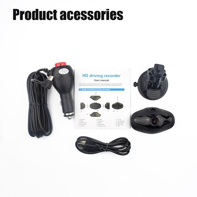 Detector de cámara para automóvil Wi-Fi JUEFAN 96658 dashcam - Electrónica del Automóvil - foto 6