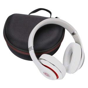 Image 3 - Funda rígida de EVA para auriculares, funda para auriculares por encima de la oreja, para estudio Pro y Beats Solo 2/Solo 3, Sennheiser Momentum