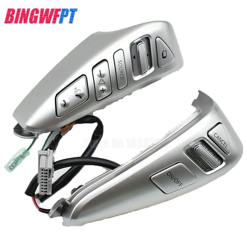 Car styling 25550 3DA6A Steering Wheel Cruise Control Bluetooth Switch 255503DA6A For NISSAN TIIDA SENTRA SUNNY Livina ALMERA