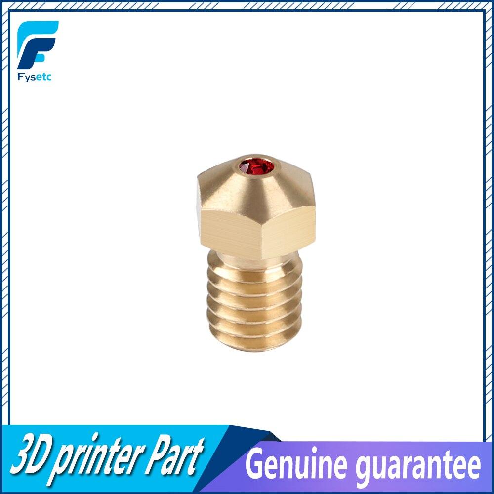 High Temperature E3D Ruby Nozzle V6 1 75mm Nozzles 0 4mm Compatible PETG ABS font b