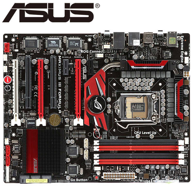 Asus Maximus III Formula Desktop Motherboard P55 Socket LGA 1156 i3 i5 i7 DDR3 16G ATX UEFI BIOS Original Used Mainboard On Sale