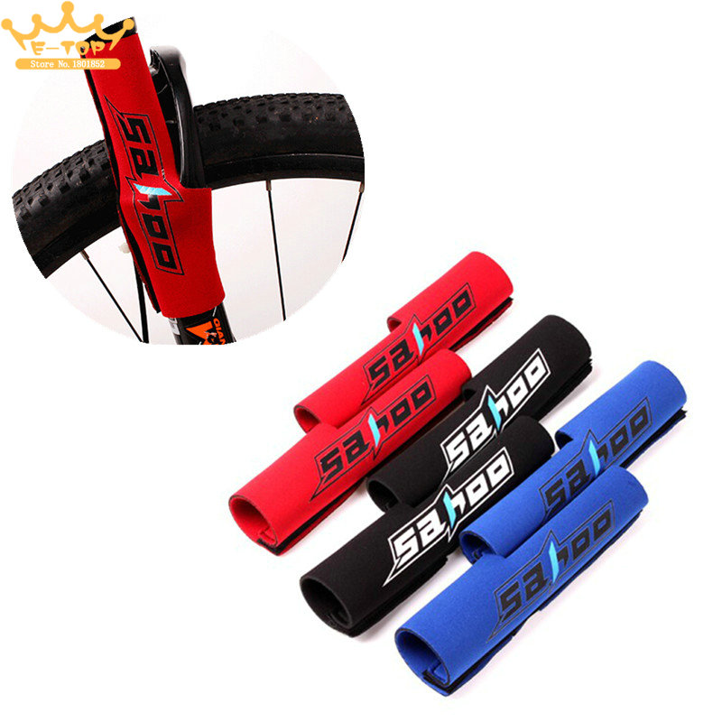 Bicycle Frame Chain Stay Front Fork Protector Pads Wrap Cover