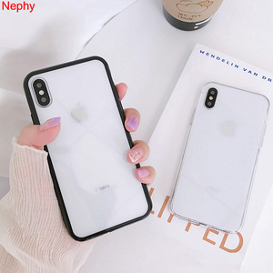 Luxury Case For iPhone XS Max X XR 10 Coque iPhone 7 8 Plus 6 6S 5 S 5S 5SE 6Plus 7Plus 8Plus Soft TPU+Hard PC Back Cover Casing(China)