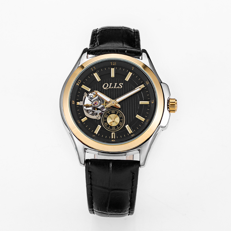 horloges mannen QLLS Mens Watches Top Brand Luxury Automatic mechanical watch Men Clock Skeleton Wristwatch relogio masculino horloges mannen qlls mens watches top brand luxury automatic mechanical watch men clock skeleton wristwatch relogio masculino