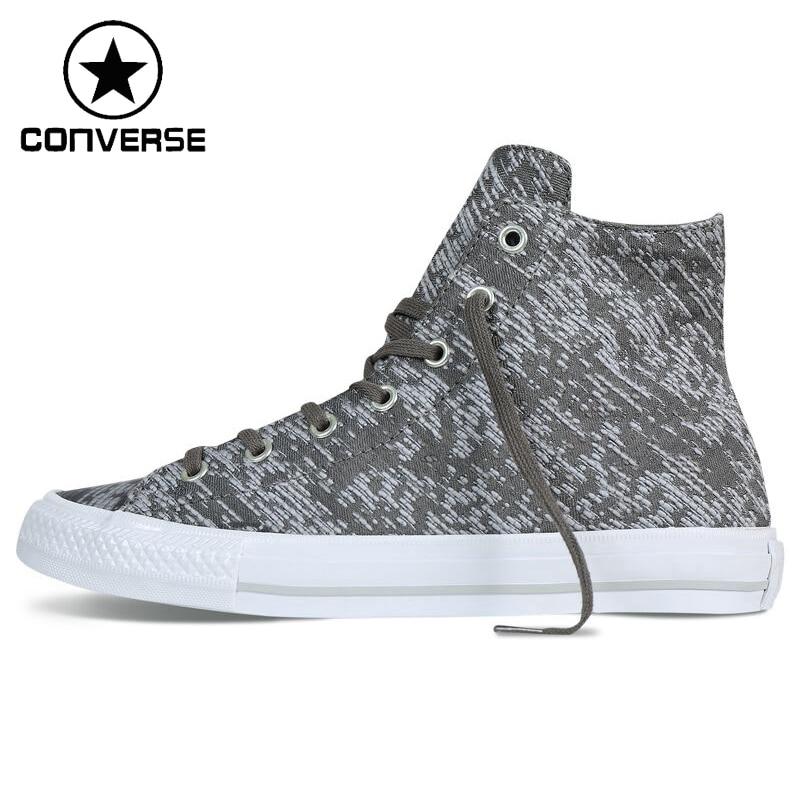 Prix pour Original Nouvelle Arrivée Converse Femmes de Haute top Imprimé Planche À Roulettes Chaussures Toile Sneakers